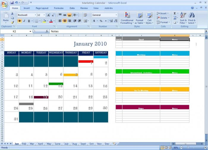 marketing calendar schedule template tool. Black Bedroom Furniture Sets. Home Design Ideas