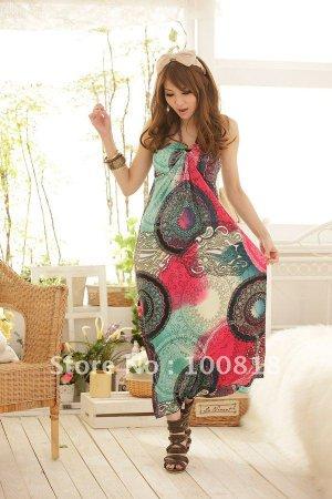 Hot Women Summer Long MAXI Dress Sexy Dress