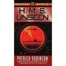 Patrick Robinson H.M.S. Unseen Audiobook Cassette