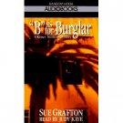 Sue Crafton B is for Burglar Audiobook Cassette