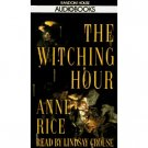 Anne Rice The Witching Hour Audiobook Cassette