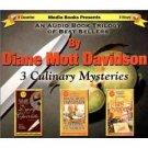 Diane Mott Davidson 3 Culinary Mysteries Audiobook Cassette
