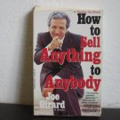 Joe Girard How To Sell Anything to Anybody Audiobook Cassette