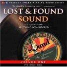 Lost & Found Sound Audiobook Cassette