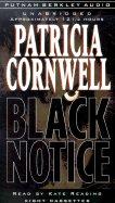 Patricia Cornwell Black Notice Audiobook Cassette