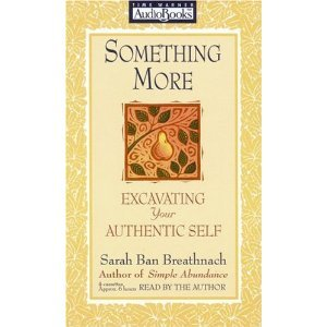 Sarah Ban Breathnach Something More Excavating Your Authentic Self Audiobook Cassette