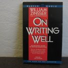 William Zinsser On Writing Well Audiobook Cassette