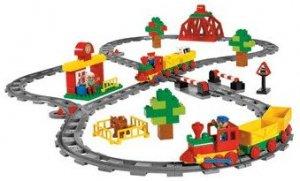 9212 Push Train Set - LEGO Duplo
