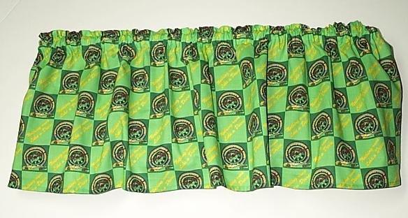 John Deere Nascar Window Valance Deer Dear Deare 100% Cotton Handcrafted 601305-1