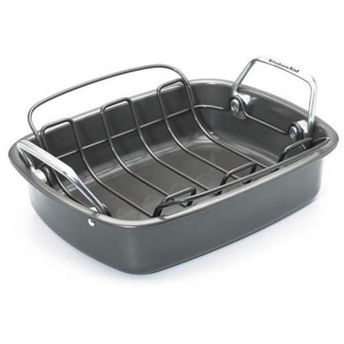 KitchenAid Open Roaster with Rack & Turkey Lifters