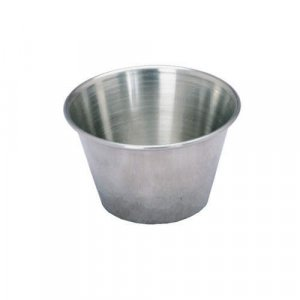 Stainless Steel Sauce Cups (12pk - 2.5 Ounce)