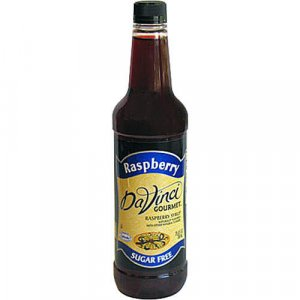 DaVinci Gourmet Sugar Free Raspberry Syrup (25.4oz bottle)
