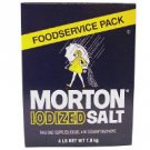 Morton - Iodized Table Salt  (4lb.)