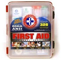 Deluxe First Aid Kit (326 pc.)
