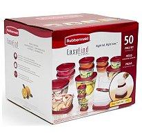 Rubbermaid EasyFind Lids� Food Storage Set  (50pc)