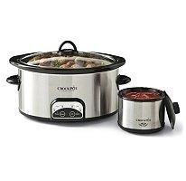 Crock-Pot® - 6 Qt. Slow Cooker Smart Pot w/ Travel Bag & Little Dipper