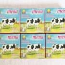 6 PCS of MENA Milk Soap With Glutathione Lightening Anti-Aging Wrinkle Soap 130g./4.6oz.