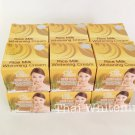 12 x Thai WHITE ROSE Rice Milk Melasma Dark spots Blemishes Skin Whitening Cream 12g.