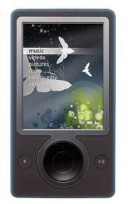 Zune 30GB MP3 Video Player, Black