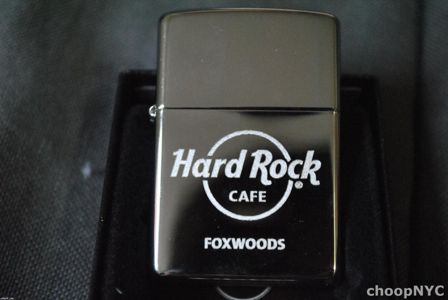 Hard Rock Cafe Foxwoods Zippo Wind-proof Lighter