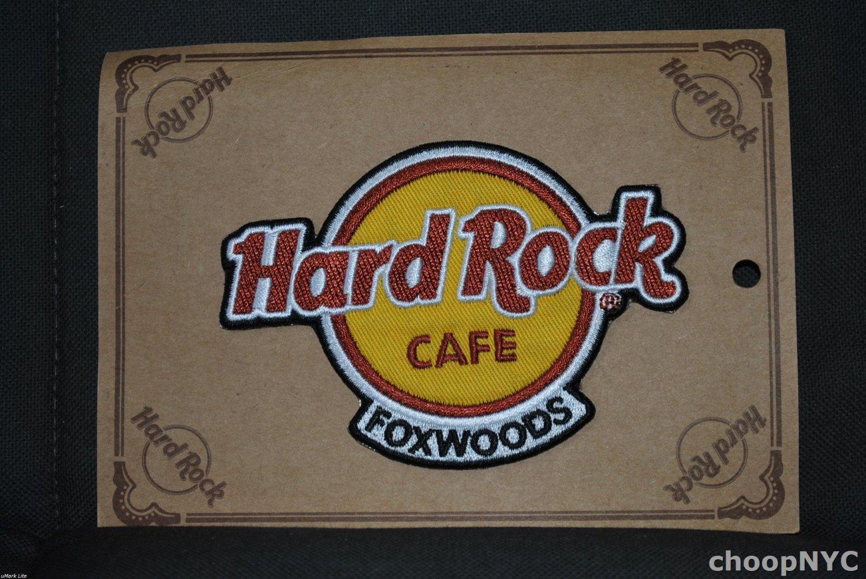 "Hard Rock Cafe ""Foxwoods"" Iron On Patch Badge"