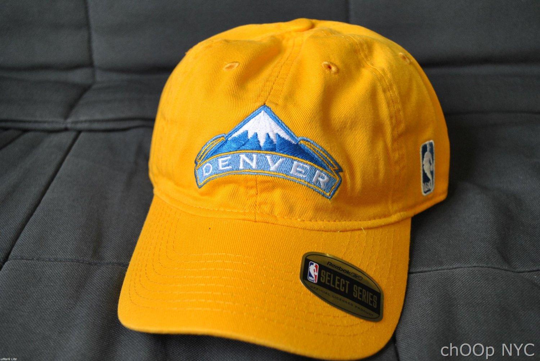 NBA Denver Nuggets Adjustable Caps by Reebok