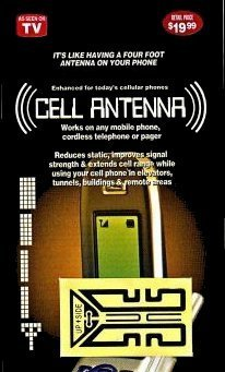 3 FOR 99 CENT SALE! - Cell Phone Antenna Boosters! - BEST BUY! Low Shipping