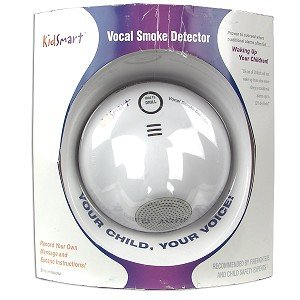 Kidsmart Vocal Smoke Detectors! Voice Record