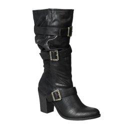 CLEARANCE �� 75% OFF - Xhilaration� Fergie Scrunch Buckle Boots - Black - Size 10