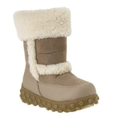 CLEARANCE - 75% OFF - Toddler Girls' Ola Fleece Boots - Sand - Size 5