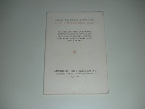 1926 American Art Galleries Auction Catalogue (softcover)