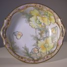 "Vintage Noritake Nippon Morimura Hand Painted Porcelain BOWL (D: 10"")"