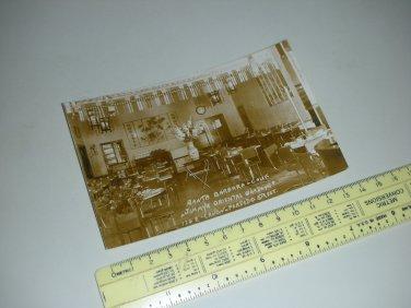 Unused EKC Real Photo Postcard RPPC - Jimmy's Oriental Gardens Restaurant