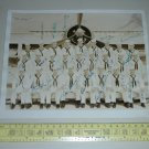 "1943 WW2 AOM NATTC MEMPHIS 43 Group Photo Autographed (10"" x 8"")"