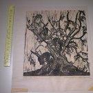20thc Woodblock Woodcut Print by Barbara Tumarkin Dunham (Artist Proof, Signed)
