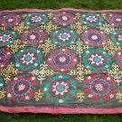 "SU03 - Vintage Uzbek Suzani Embroidery Textile Large (94"" x 77"")"