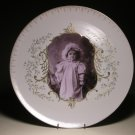 Antique Thun TK Photograph Large Wall Serving Porcelain Family Heirloom Plate #1