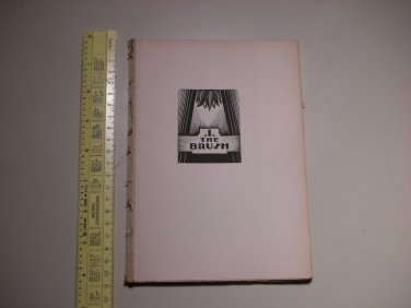 1929 God's Man A Novel in Woodcut Lynd Ward - PAGES ONLY - BOOK 1 - THE BRUSH