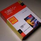"1992 Turbo C++ v3.0 for DOS Box Set (Manual, 3-1/2"" diskette & 5-1/4"" Floppy)"