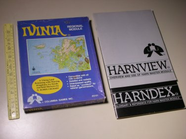 Vintage Columbia Games Inc Harn Ivinia RPG Box Mix Lot (4 x manuals, 2 x maps)