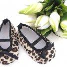 Cheetah Crib Shoes