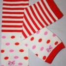 Striped & Polka Dot Leg Warmers