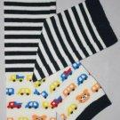 Striped & Cars Leg Warmers