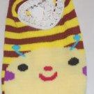 Yellow & Brown Striped Bumble Bee Socks