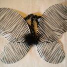 Zebra Print Butterfly Wings