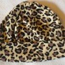 Cotton Beanie - Cheetah