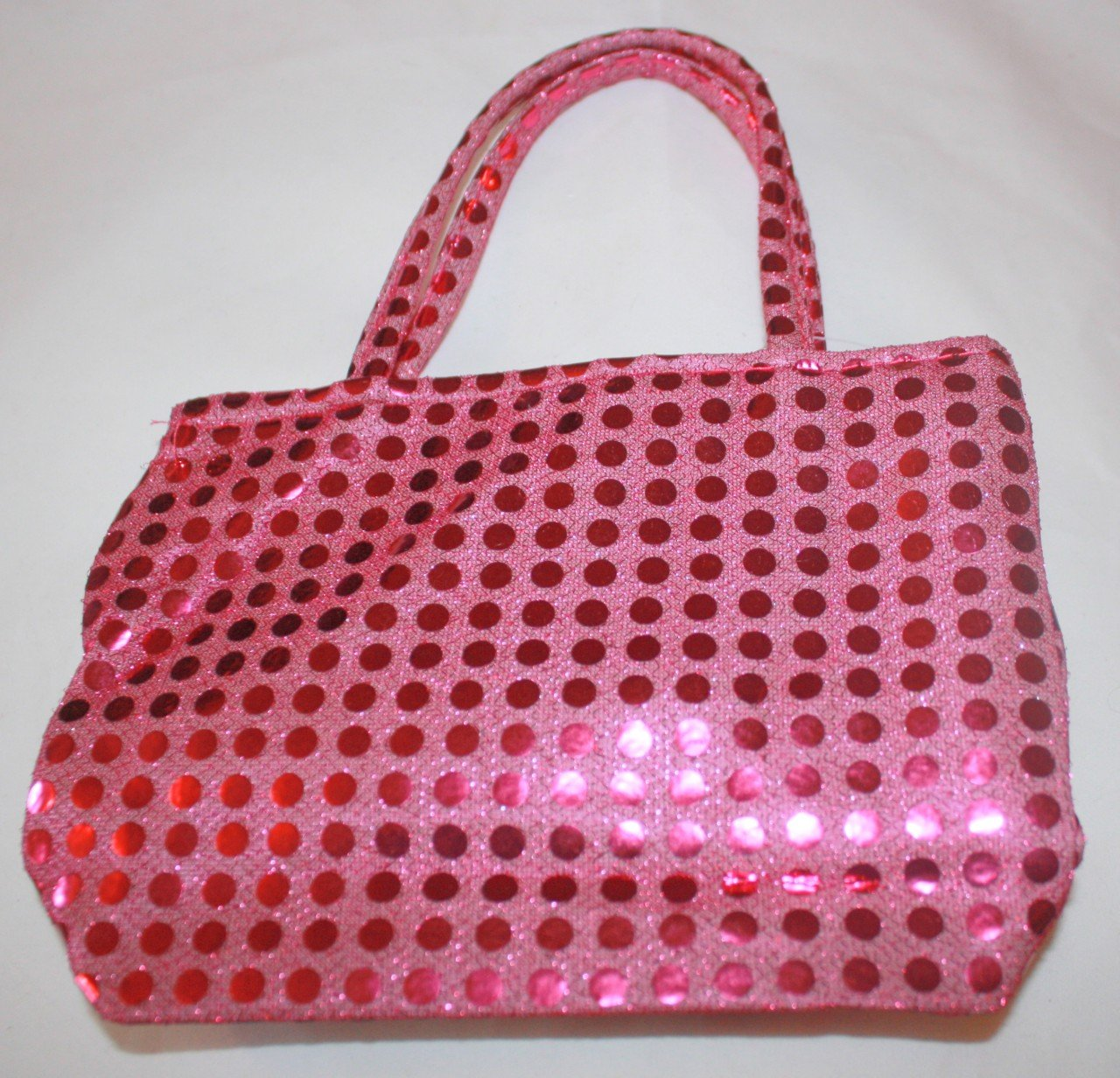 Hot Pink Sequin Purse