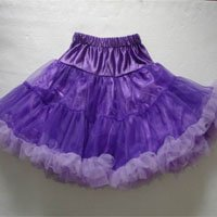 Purple and Lavender Pettiskirt