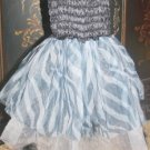 Zebra Print Princess Dress