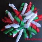 "4"" Fluffy Korker Clip - CHRISTMAS"